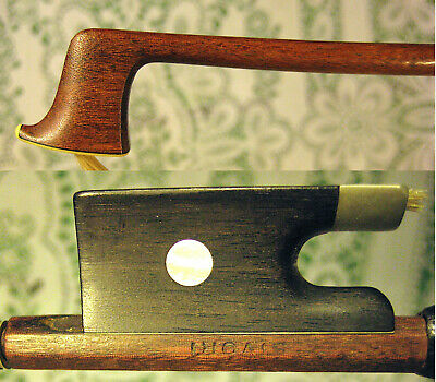 Gorgeous Old Sivori Stamped Violin Bow Lovely Pernambuco Good Player Bow! NR