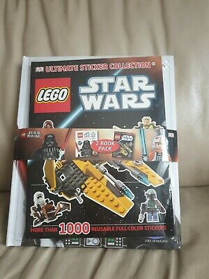 LEGO® Star Wars™ The Visual Dictionary & Ultimate Sticker Collection Bundle