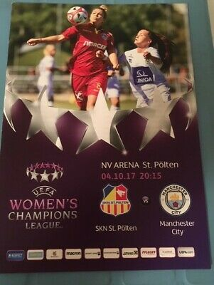 2017/18 Skn St.polten V Manchester City - Womens Champions League
