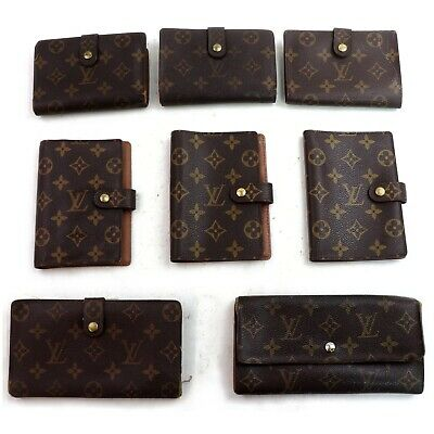 Louis Vuitton Monogram Wallet Diary Cover 8 pieces set 503964