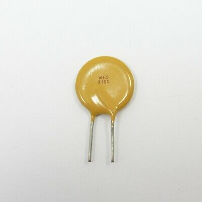 Resettable Fuse 60V 1.6A RXEF160 Radial Polyswitch Polyfuse