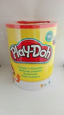 NEW Play-Doh Create N Canister Set 20xPlaydoh Tubs 45x Accessories Free Shipping