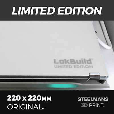 LokBuild LIMITED EDITION - 220 x 220 (Ultimaker, Wanhao, Cocoon, MonoPrice)