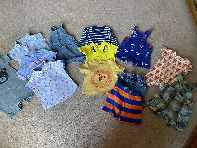 Huge 6-9months Boys Summer Bundle Outfits Joules John Lewis Next Hux Baby ++