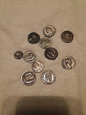 Ancient Roman Coins SILVER~XF MYSTERY GRAB!