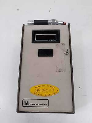 Power Instruments 1891-M Digital Phototach Operating Directions