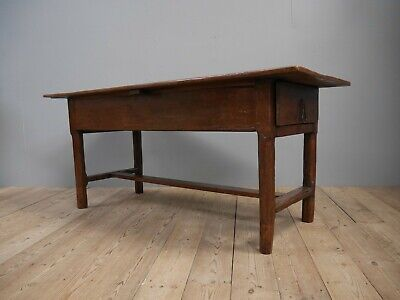 Original 18th Century Antique French Refectory Table Prep Dining Kitchen Island