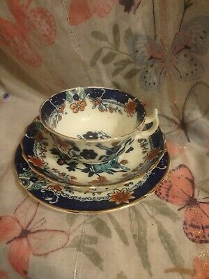 VINTAGE ALBION CHINA TEA/COFFEE CUP, SAUCER AND SIDE Plate. Trio              48