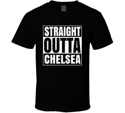 Straight Outta Chelsea Michigan City Compton Parody Grunge T Shirt