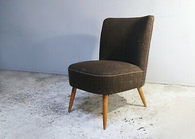 1960's Danish mid century vintage small bedroom armchair