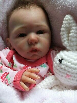 Reborn Baby Girl Doll , Melody By Laura Tuzio Ross