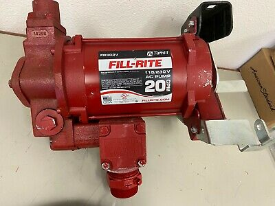 FILL-RITE FR303V Fuel pump with hose and nozzle