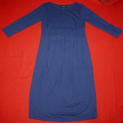 "Isabella Oliver for ""A Pea In The Pod"" Maternity Blue Dress Size 3 UK 12 US 8"