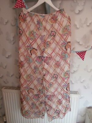 Amazing Rachel Robarts Trousers, Size 12,100% Pure Silk, Worn Once