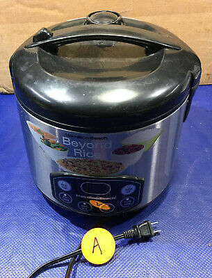 Hamilton Beach 37536 Rice Cooker A steamer rc07