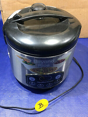 Hamilton Beach 37536 Rice Cooker B steamer rc07