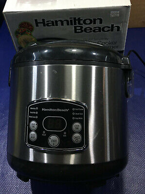 Hamilton Beach 37541 Rice Cooker steamer rc11