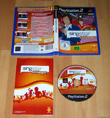 SingStar Schlager Sony PlayStation 2 PS 2 PS3 Top Game