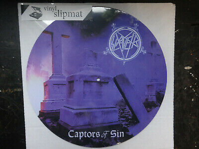 Import Only Here SLAYER Vinyl Slipmat Limited Sold Out Exodus