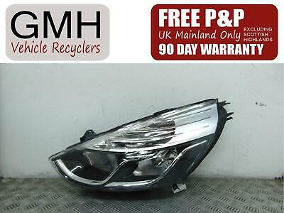 Renault Clio Left Passenger N/S Headlight/Headlamp 260606688r 2013-2019↑