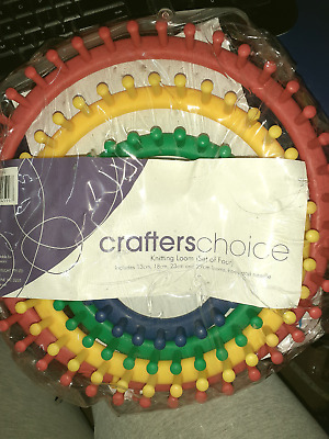 Brand new knitting loom set 4 plus hook & needle, see pic for sizes