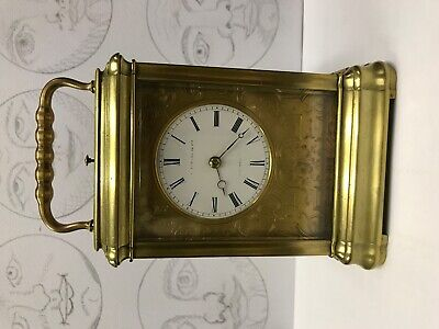 French carriage clock gorge case repeater