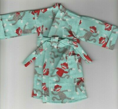 My Ponies Print Robe That Fits Ken//Barbie and Elf Doll-Homemade R1