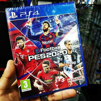 Pro Evolution Soccer 2020 eFootball PES 20 Sony PS4 Video Game UK EU New Boxed