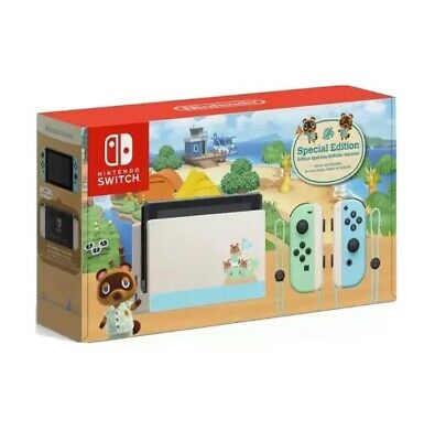 Nintendo Switch Animal Crossing: New Horizon Special Edition V2 (2020) w/ Game