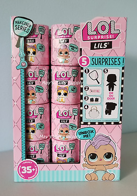 LOL Surprise Makeover Series Lils Pets, Sisters Or Brothers~NIB 48 Doll Capsules