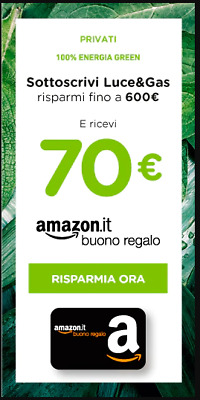 Coupon sconto Sorgenia 670 €