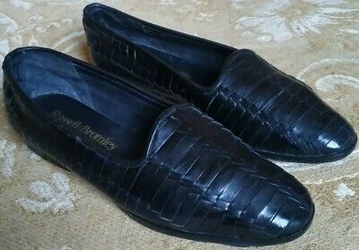 Russell & Bromley Womens Black Leather Pumps - Uk 5 C / Eu 38 - Good Condition
