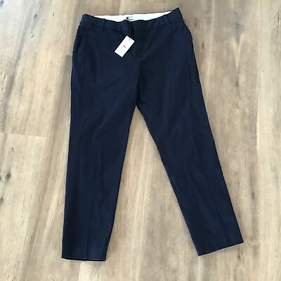 Jag Womens Dressy Chino French Navy Size 12 Style JWW163088 Pants #129