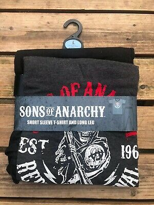 Sons Of Anarchy Men's Pyjama Set UK Size Large