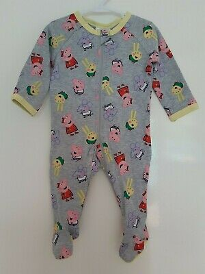 Brand New Peppa Pig All-In-One Coverall  'My First Peppa' Size 000