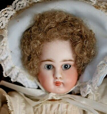 Angelic Closed Mouth Pouty Sonneberg Antique Bebe by ABG. 28cm