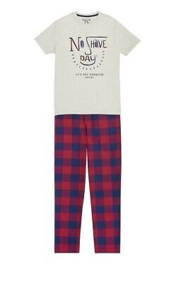 BNIP JOULES Goodnight 'No shave' Mens Pyjamas Lounge set - Size XL