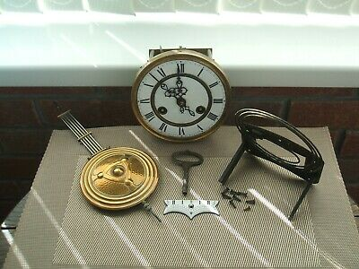 "Antique Clock Movement Only / German ""Friedrich Mauthe Schwenningen"""