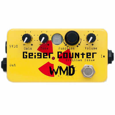 WMD Geiger Counter Civilian Issue Distortion / Bitcrusher Effects Pedal