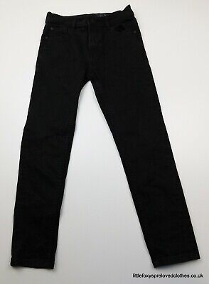 9 years Next girls skinny black jeans trousers