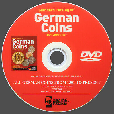 Catalog Of German Coins From 1501 To Present - New Original On Dvd