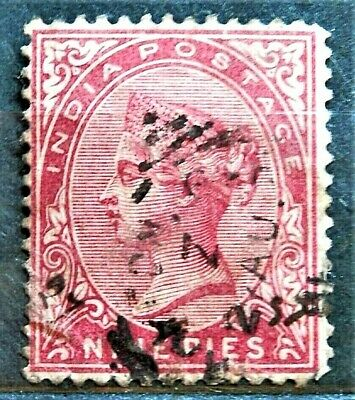 Queen Victoria Old British Colony Stamp India , Good / Used...