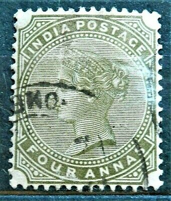 Queen Victoria Old British Colony Stamp India , Good / Used....