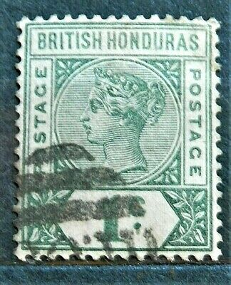 Queen Victoria Old British Colony Stamp Honduras Good , Used