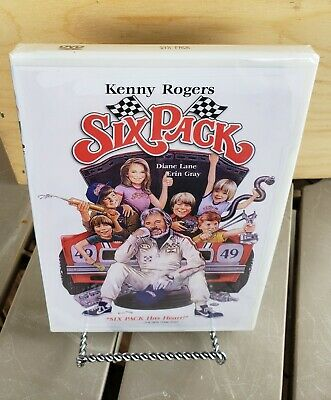 Six Pack (1982) New sealed DVD Kenny Rogers  Anchor Bay