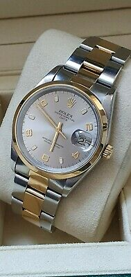 Rolex Oyster Date 15203 Bi Metal Stainless/18K Box & Papers 98