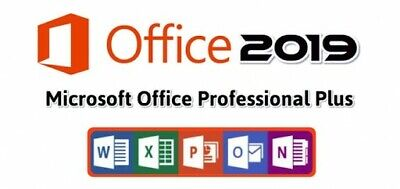 Microsoft Office 2019 Professional Plus Licence Genuine Key ✔️ Instant Delivery