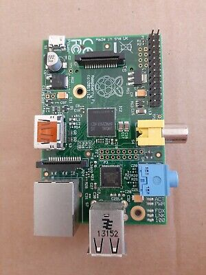 Raspberry Pi 1 Model B rev 2.0 EUC FREE SHIPPING