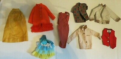 Vintage Signed Lot of Barbie and Ken Clothing lot of 8 pieces