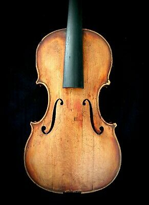 Very Nice Quality Old Violin. Labeled by Maker & 1929. Good Old Violin